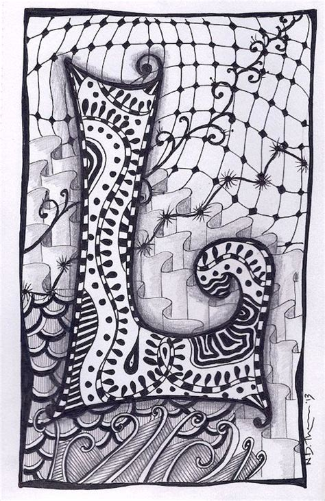 doodle name nia zentangle letter m zebra letters name bunting