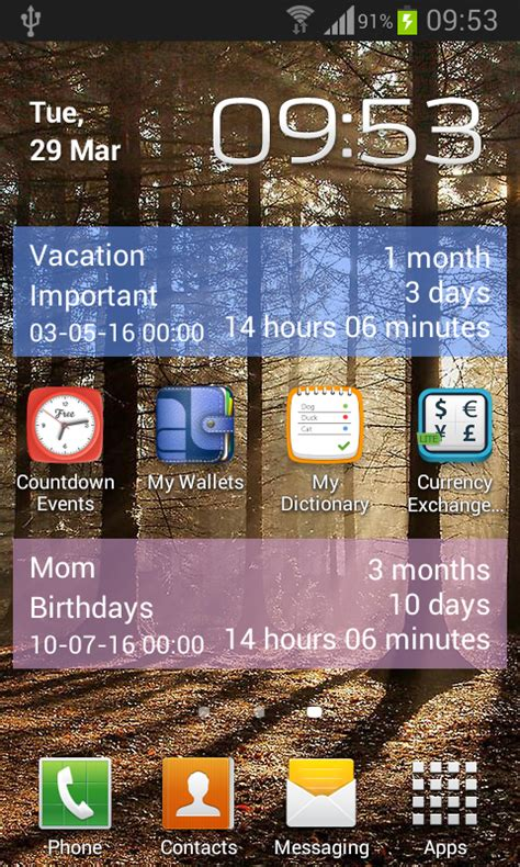 Countdown Calendar App Countdown Calendar Free Android Apps On Play