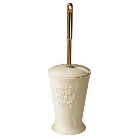 traditional salon de bain ceramic toilet brush amp holder