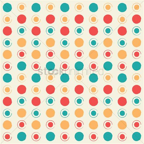 circle pattern in vector circle pattern background vector image 1566045