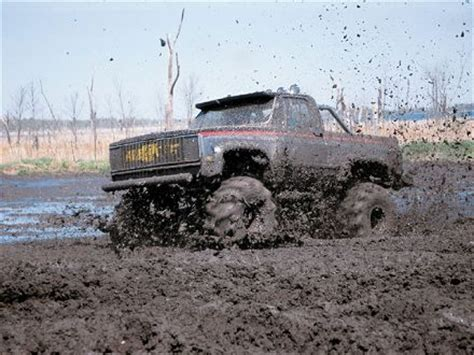 Big Trucks In The Mud