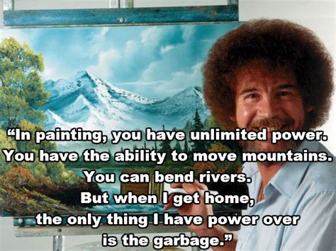 bob ross of painting quotes it s so important to do something every by bob ross like