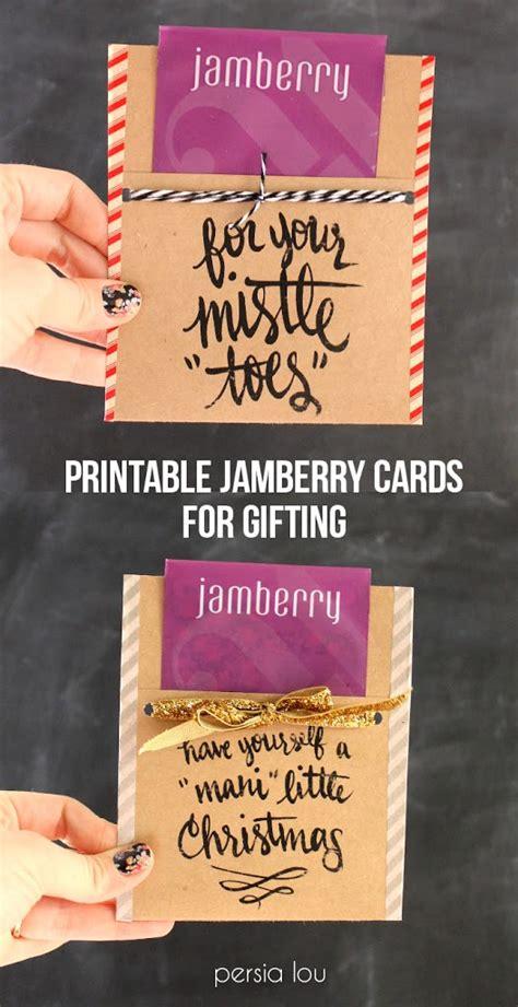 free printable nail themed christmas gift tags