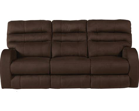 catnapper power reclining sofa catnapper kelsey power headrest power lay flat reclining