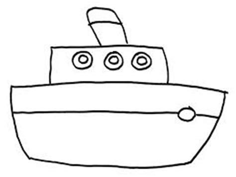 barcos para pintar niños barco para colorear