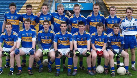 benny banks bars 2010 sbtv benny harkin lined out for tipperary minor football team
