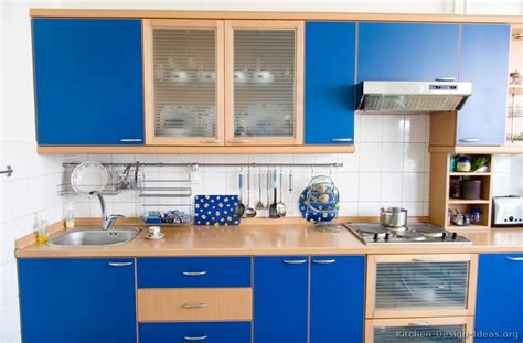 Blue Kitchen Decorating Ideas by Modern Blue Kitchen Cabinets Pictures Amp Design Ideas