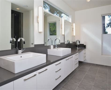 modern gray bathroom how to use gray around the house without making it look boring