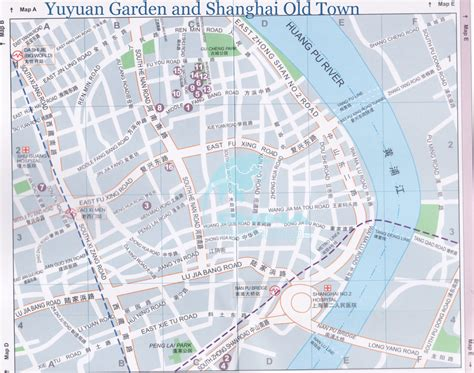 yuyuan garden map
