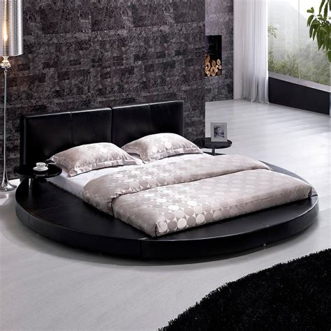 Shop Tosh Furniture Black King Platform Bed At Lowes Com