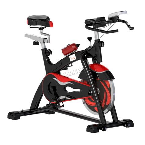 ebay exercise bike foxhunter fitness exercise bike cycling gym indoor workout