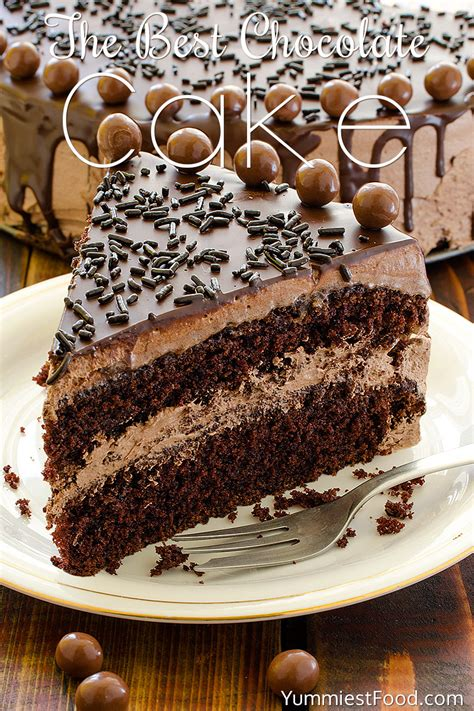 best cake recipes the best chocolate cake recipe dishmaps