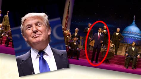 donald trump hall of presidents donald trump and the hall of presidents disney