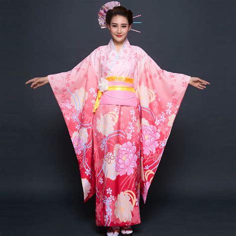 Japanese Kimono 2018 new traditional japanese kimonos japanese silk robes