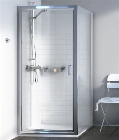 730mm Shower Door Aqualux Source 900mm Pivot Shower Door 1192599