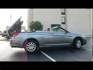 2008 Chrysler Sebring Convertible Top Problems 2008 Chrysler Sebring Start Up Convertible