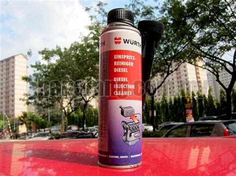 wurth injector cleaner 300ml fuel additive supplement zhapalang e autoparts