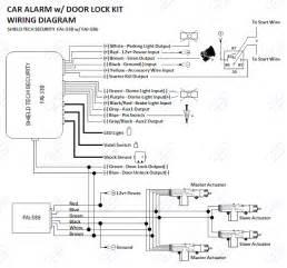 remote car alarm keyless entry security 4 door power