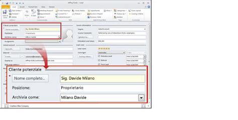 sky ufficio clienti gestire i clienti potenziali in business contact manager