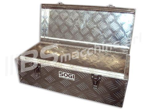 cassette alluminio baule portautensili cassetta alluminio sogi ble 58