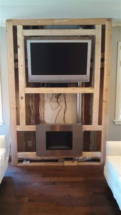 Cost To Install Tv Fireplace by Diy Fireplace Feature Wall On A Budget Fireplace Feature