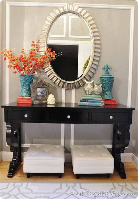 best 25 console table decor ideas on foyer