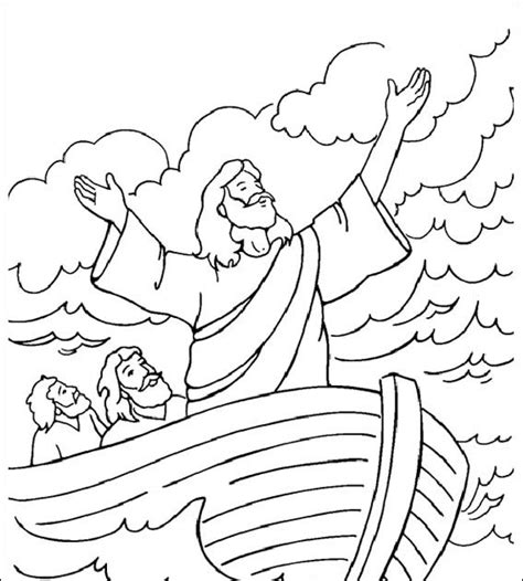 imagenes cristianas para colorear dibujos para colorear de jesus calma la tempestad para colorear dibujos