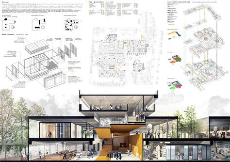 presentation drawing layout architecture presentation board tips first in architecture