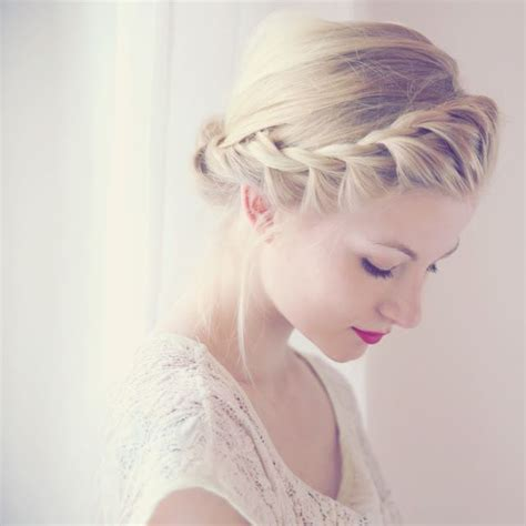 scalp braids in a french twist quot french quot twist braid around head to form crown so elegant