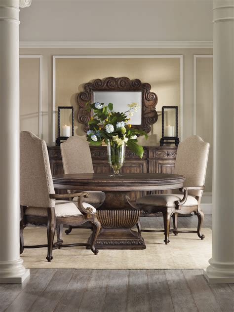 hooker furniture rhapsody   dining table set  dining rooms outlet