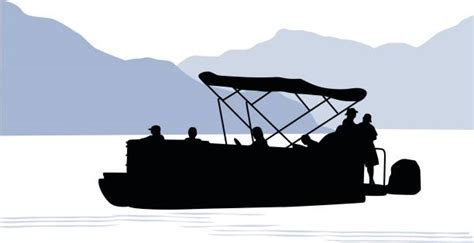pontoon boat clipart royalty free pontoon boat clip art vector images
