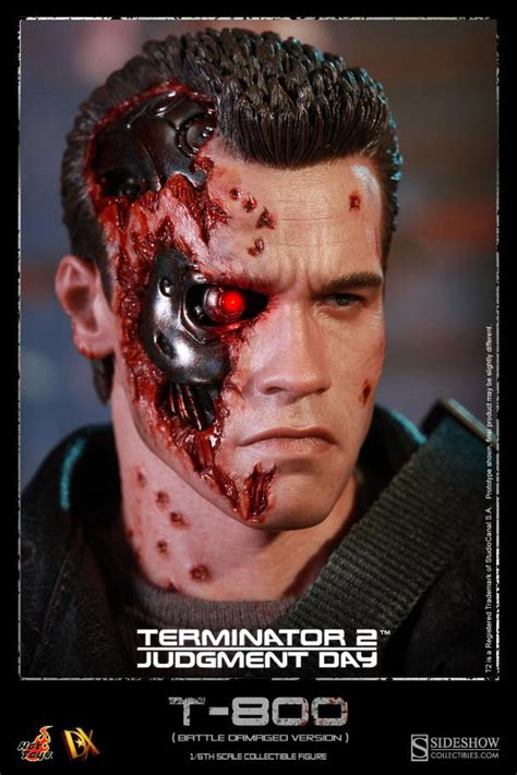Toys 16th Scale Terminator Salvation Endoskeleton T600b toyzmag 187 le t 800 battle damaged dx chez toys