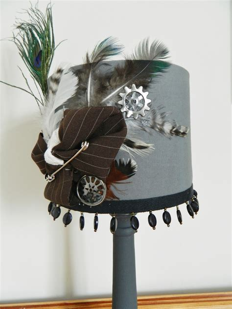 steampunk aviary lamp shade     lamp