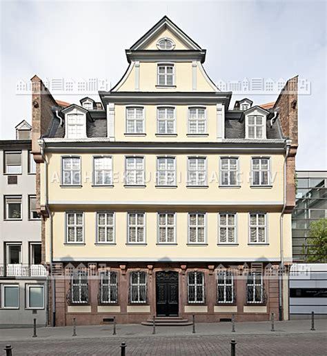 goethe haus frankfurt goethe haus frankfurt am architektur bildarchiv