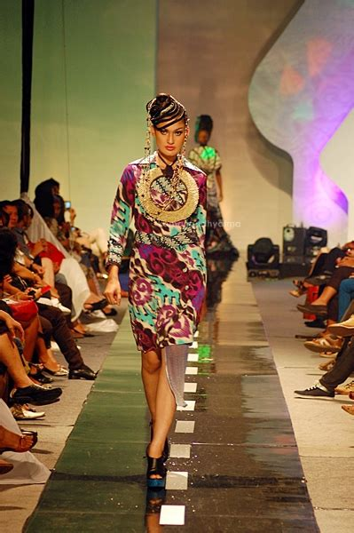 batik zikin design jogja fashion week 2011 on behance