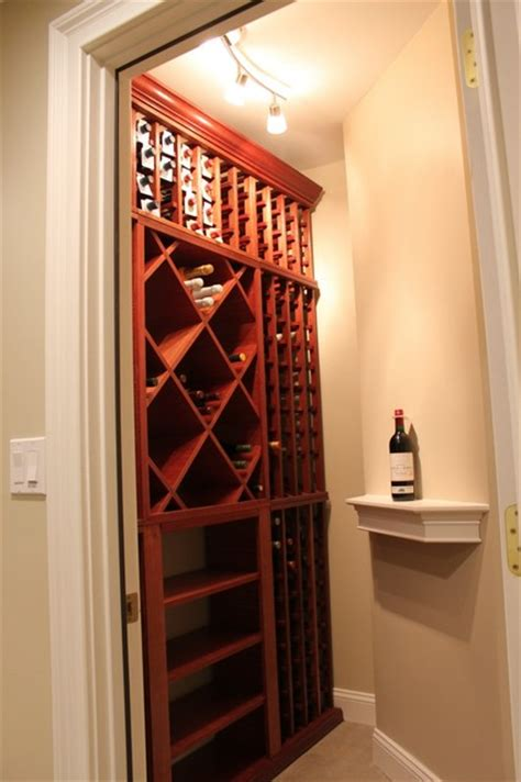 Closet Wine Cellars by Wine Cellar Closet Traditional Wine Cellar New York