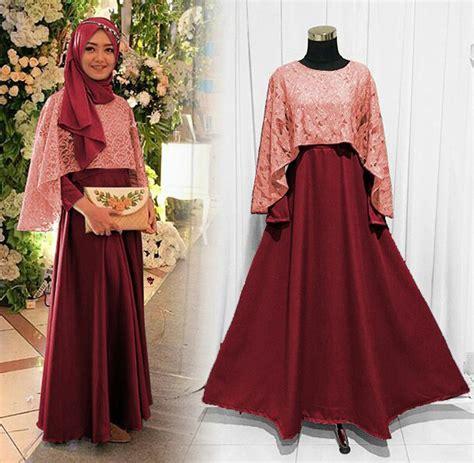 Setelan Kebaya Fullos 2in1 Pink A atasan remaja muslim design bild