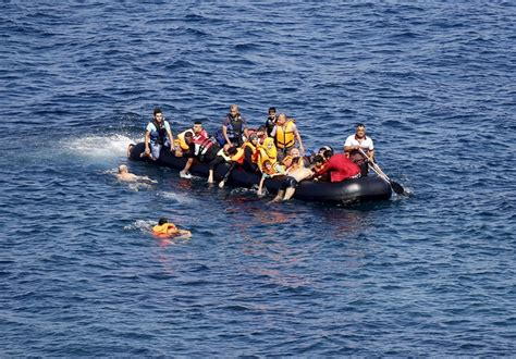 refugee boat cyprus boat sinks off turkish coast at least 18 refugees drown