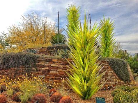dessert botanical garden chihuly sculpture yucca desert towers picture of desert