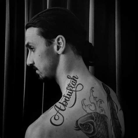 tattoo ibrahimovic fome ibrahimovic tatua 50 nomes em canha contra a fome
