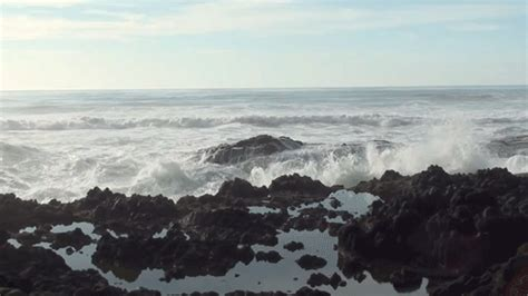 Crashing On The by Crashing Waves Gif Pictures Photos And Images For