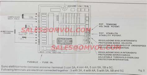 mecc alte spa generator wiring diagram generator avr