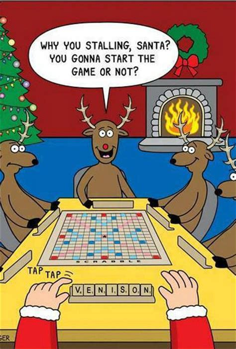 is twas a scrabble word why you stalling santa weknowmemes