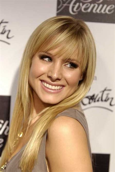 kristen bell medium straight cut edgy chic kristen bell 22 best cute hairstyles 2014 2015 long hairstyles 2016