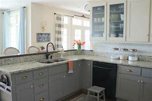 cleaning painted kitchen cabinets why i repainted my chalk painted cabinets sincerely sara d