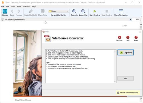 vitalsource bookshelf ebook to pdf converter