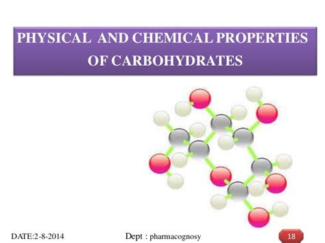 8 properties of carbohydrates carbohydrates ppt