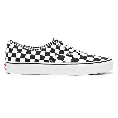 Mixing Whitening tenisky vans authentic mix checker black true white