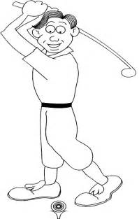 golf coloring pages printable golf themed coloring pages for