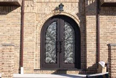 Exterior Doors Reviews Wrought Iron Entry Doors Reviews Home Ideas Collection Wrought Iron Entry Doors For An